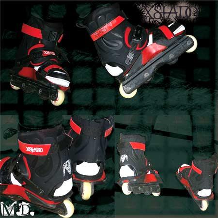 Red Xsjado Stockwell Skates