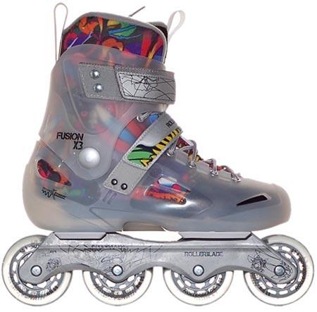 Rollerblade: (Prototype?) Transparent Skates