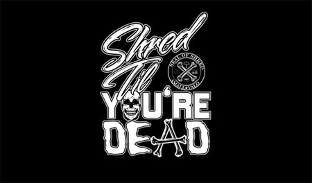 Shred 'Til You're Dead (2009) - A Tour Film by Ivan Narez