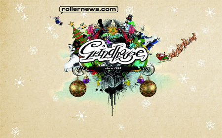 Rollernews Grindhouse xmas wallpaper
