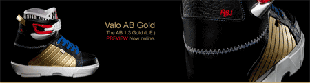 Valo Alex Broskow (AB.1) Gold Limited Edition