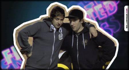 Chaz Sands and Scott Quinn