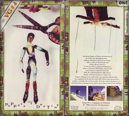 Videogroove VG4 - Puppets of Destiny (1996)