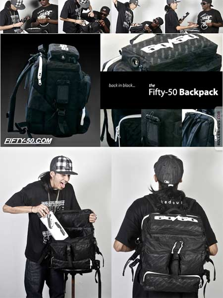fifty-50 backpack