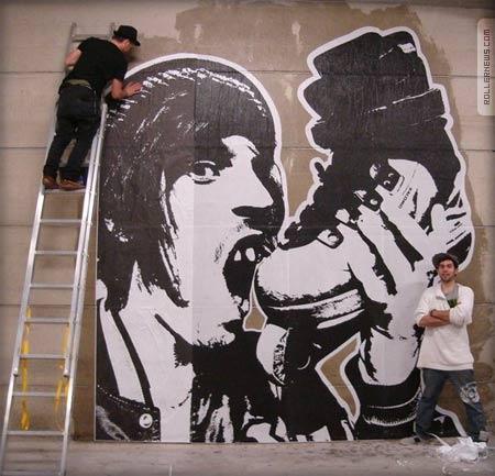 skate urban art