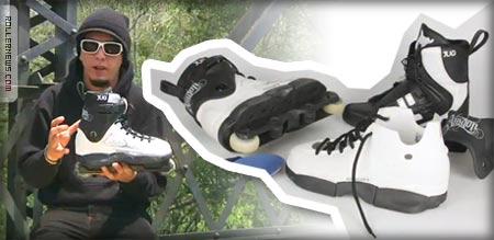 Frankenboots custom skates with juan mosqueda