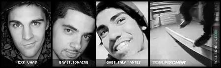 Gabe Talamantes, Tom Fischer, Nick Uhas, Brazilionaire