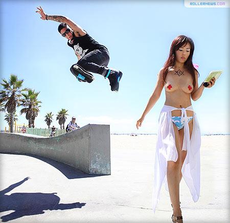 Juan Mosqueda, Venice Beach by Jeff Linett