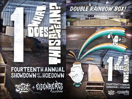 Hoedown 14 / Double Rainbow Box