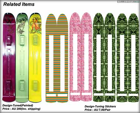 inline skis
