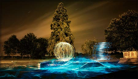 painting with light - ben matthews