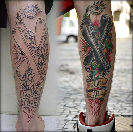 Blading Tattoos by Paul Grave (Brazil)