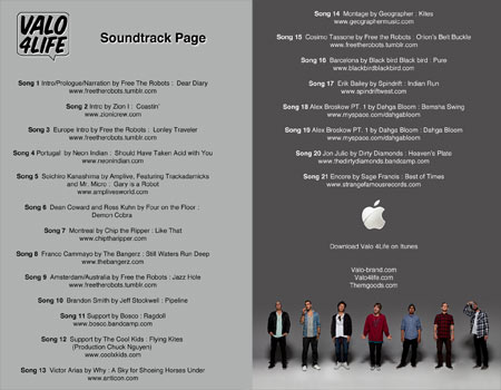 Valo 4life Soundtrack