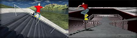 3d skater