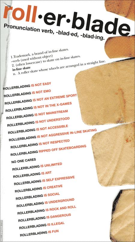 What is Rollerblading: Manifesto