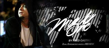 Fred Castro: M1 Dual Durometer wheel, Promo Edit