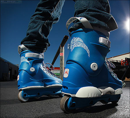 Razor Genesys Sega Blue Skates