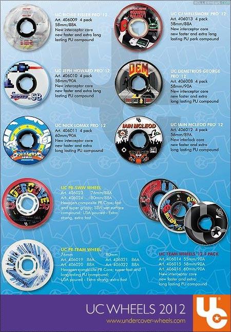 Undercover: 2010 Pro Wheel Line
