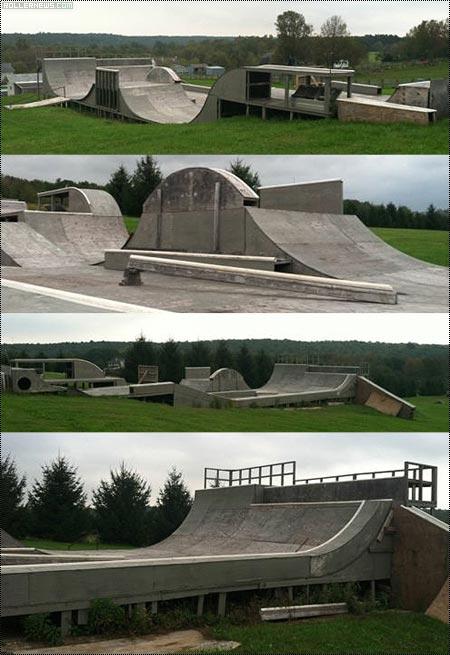 Your own skatepark for 9,900.00 US Dollars