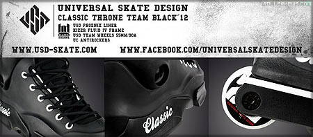 Usd Classic Throne Team Black 2012