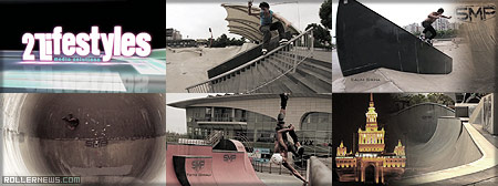 A ride at SMP Skatepark Shangai (China)