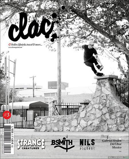 Alex Broskow Clac Magazine (France): Issue 3 (December 2011)
