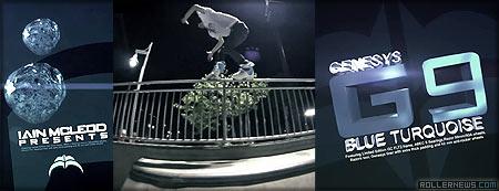 Iain Mcleod: Razors G9 turquoise, Promo Edit