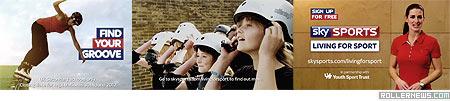 Jenna Downing: Sky Sports channels Advert