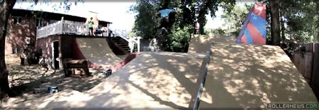 flowzone We Are One Skate Park backyard
