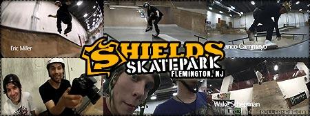 Shields Skatepark: Winter 2011