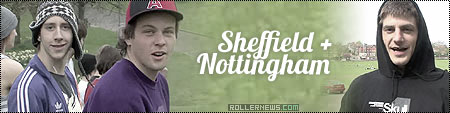 Sheffield Nottingham Weekend featuring James Keyte, Lewis Bowden, Keir Lyndsey and Graeme Forbes