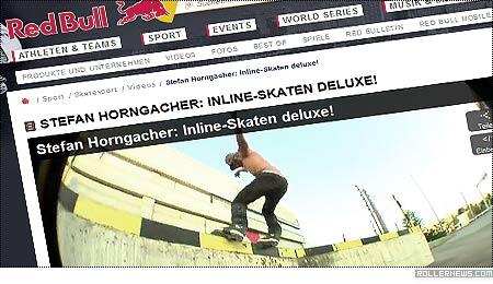 Stefan Horngacher: Redbull, Inline-Skaten Deluxe