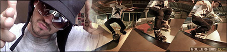 Oli Benet: 1 minute of Powerblading in El Rancho Skatepark (Barcelona)