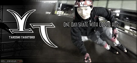 Takeshi Yasutoko and Yusuke Aihara One Day with the GoPro HD2 (G Skatepark Kobe Japan)