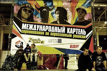 Montre Livingston, Brian Aragon, Brian & Dre Powell in Russia: International Kartel Contest (Krasnoyarsk)