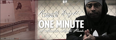 Ramelle Knight: One Minute at Shields Skate Park