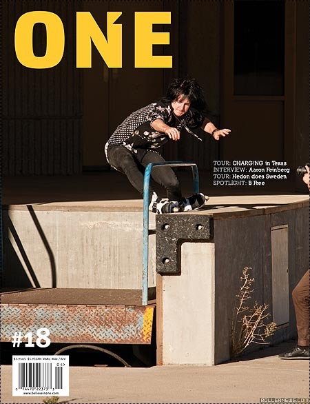One Mag: Issue 18 Online, cover boy: chris farmer