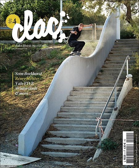 Clac Magazine 4, Cover Boy: Remy Meister