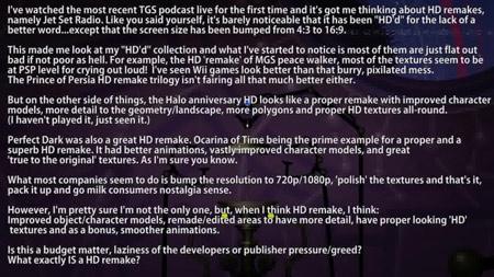 Jet Set Radio (PC, XBLA & PSN): HD Remake? Totalbiscuit Podcast