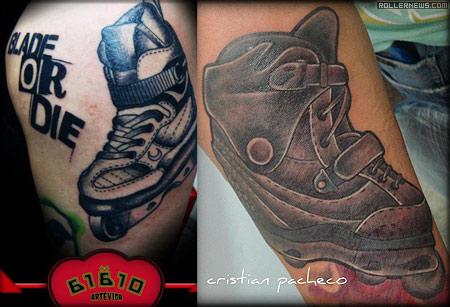 Rollerblading Tattoos