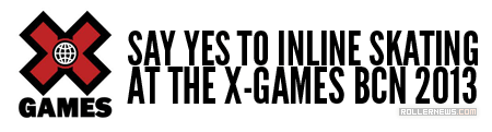 Support Inline for the X-Games BCN 2013