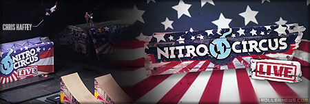 Nitro Circus Live: 2012 Brisbane Highlights, featuring Chris Haffey