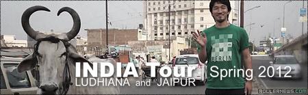 Eito Yasutoko: India Tour 2012  (Ludhiana + Jaipur)