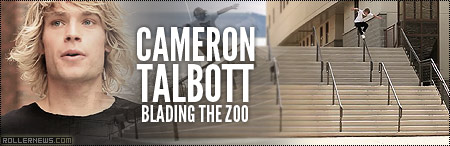 Cameron Talbott: Blading the Zoo, by Brian Sorg