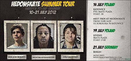 Hedonskate Summer Tour 2012