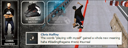 Jon Julio's Blading, The Game - Chris Haffey