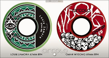 Circolo Wheels: Louis Zamora & Omar Wysong