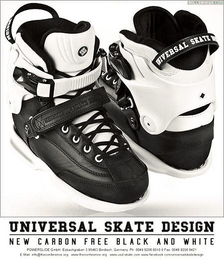 USD Carbon Free Black & White