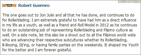 Robert Guerrero speaking about Jon Julio