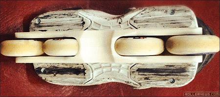 Bake Frames: 72mm flat frame with h-block (prototype)